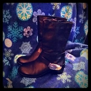 Vince Camuto Winchell Moto Boots